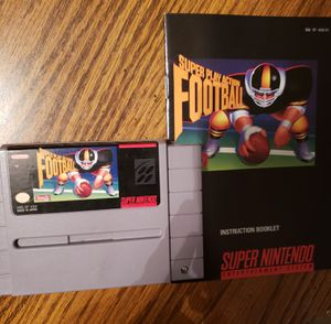 Super Nintendo Super Play Action Football for Sale in Mt. Juliet, TN