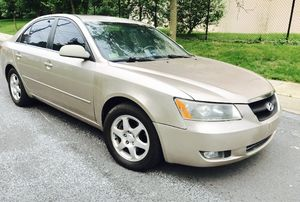$2460!! 2006 Hyundai Sonata !! COLD AC !! (Mechanic SPECIAL))) VEHICLE Needs IDLE SENSOR!! CAR DRIVES for Sale in Chevy Chase, MD