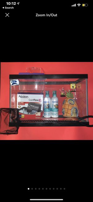 Fish tank bundle for Sale in La Quinta, CA