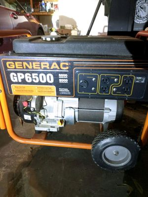 GENERAC GP6500 (only 17 hours used) GENERATOR for Sale in Lake Oswego, OR