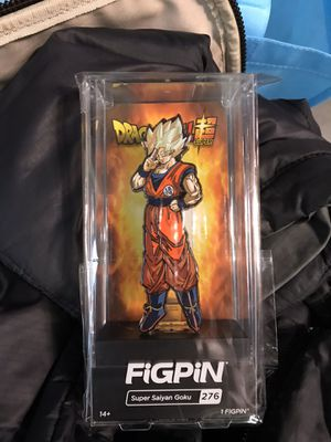 FiGPiN Dragonball Z Super Saiyan Goku NYCC Exclusive 1 of 1000 Limited for Sale in Long Beach, CA