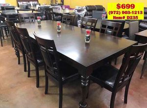 Dining table with chairs brand new (((( fast delivery)))) for Sale in Dallas, TX