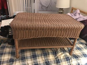 Wicker table for Sale in FL, US