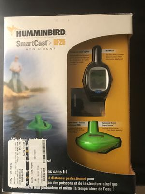 Hummingbird smart cast rf 25 rod mount fish finder for Sale in Rio Rancho, NM