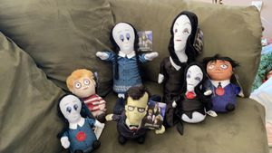 Musical and singing Addams family Plushy's for Sale in Fort Myers, FL