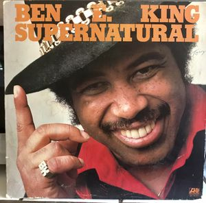 Vintage Ben E. King LP Record 1975 Supernatural for Sale in Clovis, CA