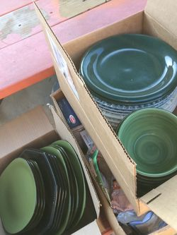 Green Dishes - Plates, Bowls, Mugs for Sale in Orange,  CA