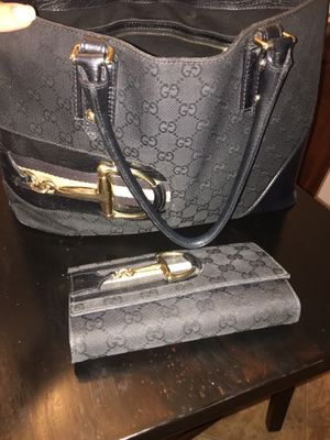 Real, authentic Gucci purse and matching wallet for Sale in Chandler, AZ