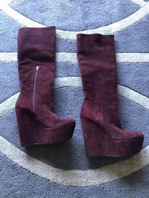 stuart weitzman wedge boots for Sale in Los Angeles, CA