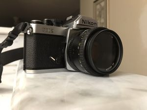 NIKON FM2N 35MM CAMERA w Lense for Sale in Largo, FL
