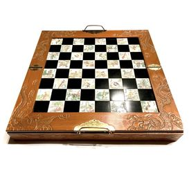 Wooden Chess Set 18 x 18 for Sale in Tigard,  OR