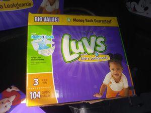 Luvs diapers for Sale in Rialto, CA