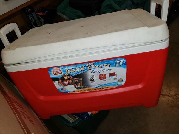 Island breeze 48 quart cooler