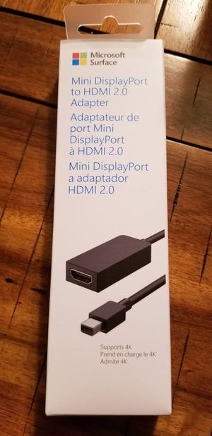 Microsoft Surface Mini DisplayPort to HDMI 2.0 Video Converter for Sale in Brentwood, TN