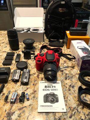 Canon EOS Rebel T5 + accessories for Sale in Newport Beach, CA