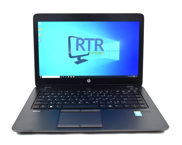 "HP ZBook 14 Laptop i7-4600U 2.10Ghz 8GB 256GB SSD 14"" Windows 10 Pro WebCam Backlit Keyboard"