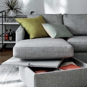 Crate and barrel couch / sectional for Sale in Plainfield, IL