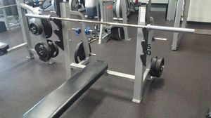 Olympic Bench Press for Sale in Tomball, TX