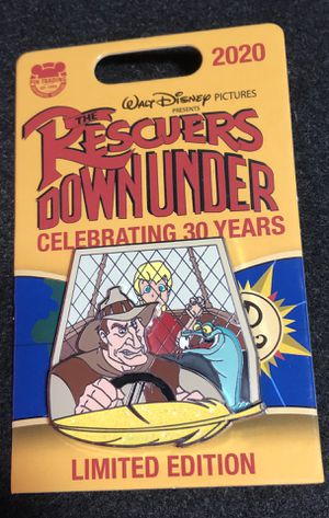 New Disney Rescuers Down Under Pin Perceval McLeach for Sale in Orlando, FL