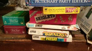 Old board games asking $10 for all obo for Sale in Cleveland, OH