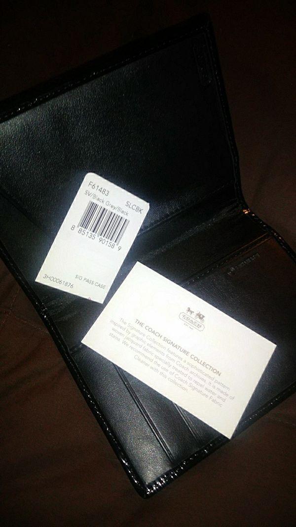 Coach wallet case