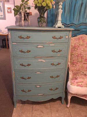 Vintage shabby chic tall dresser for Sale in San Diego, CA