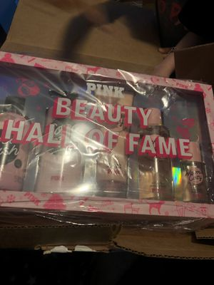 Victoria's Secret pink beauty box for $45 for Sale in Philadelphia, PA