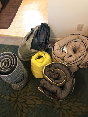 Sleeping bags, pads, air mattress for Sale in High Point, NC