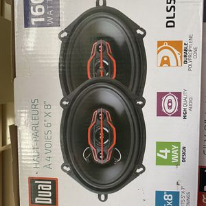 """6""""x 8 4-way SPEAKERS for Sale in Charlotte, NC"""