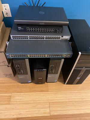 Must Go (Laptops, Desktops, & Switches)(Dell - HP - Cisco) for Sale in Alexandria, VA