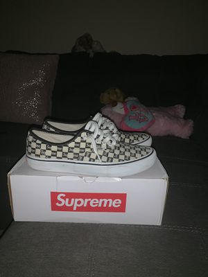 Supreme x Vans for Sale in Brentwood, CA