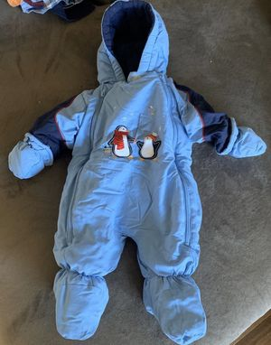 baby boy snowsuit size 3-6months for Sale in College Park, MD