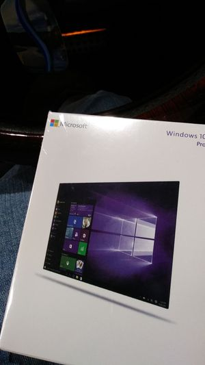 Windows 10 pro full version for Sale in Greenville, SC