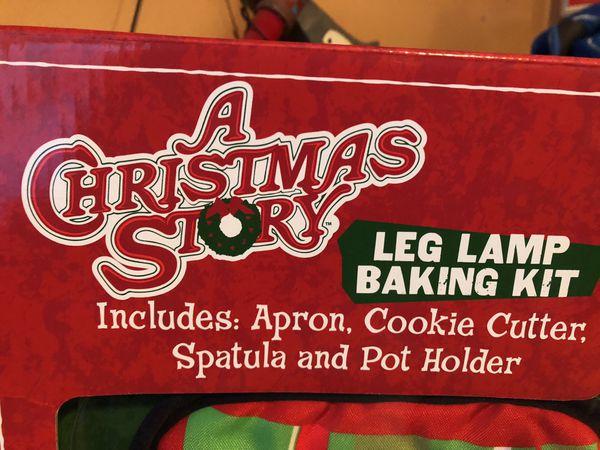 Brand New- A Christmas Story Leg Lamp Baking Kit
