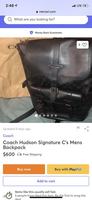 Men's coach backpack for Sale in El Monte, CA