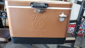 Tito's vodka ice chest for Sale in Selma, CA