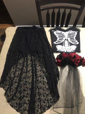 Día de los muertos costume Size Med for Sale in Riverside, CA