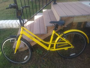 Yellow and black OFO cruiser bike for Sale in Austin, TX