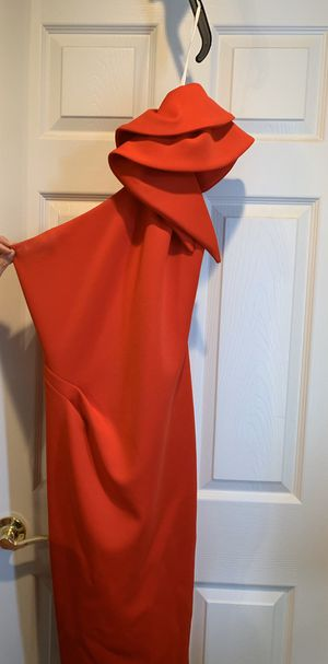 Red knee length formal dress for Sale in Royersford, PA