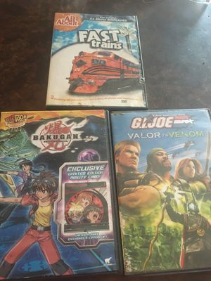 3 dvds for Sale in Central, SC