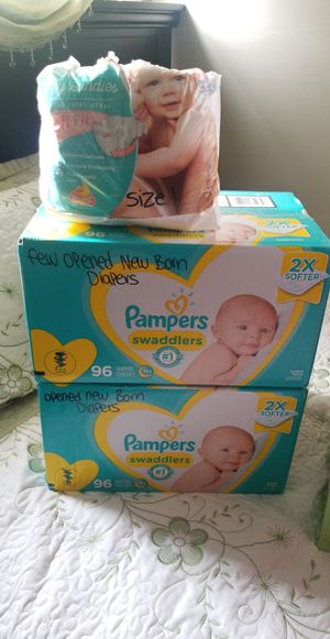 Diapers NB- size 1 for Sale in San Diego, CA