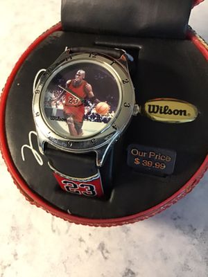 Brand New Michael Jordan #23 1990's Wrist Watch in Case for Sale in Goodlettsville, TN