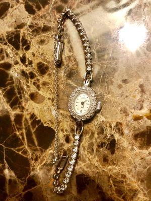 Hamilton ladies diamond watch for Sale in Rockville, MD