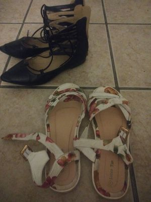 Girls shoes size 3/4 both for $10 for Sale in Miami, FL
