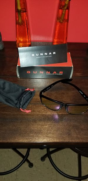 Gunner video game and computer glasses for Sale in The Bronx, NY