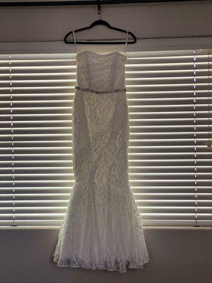 Wedding dress strapless for Sale in Whittier, CA