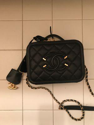Rare Chanel Filigree Square Bag 100% Genuine Leather for Sale in Fairfax, VA