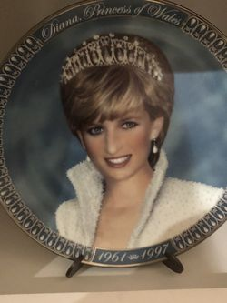 Princess Diana collector plate for Sale in Visalia,  CA