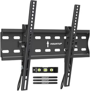 "New MOUNTUP Tilting TV Wall Mount Bracket for 26-55 Inch Flat Screen TVs/Curved TVs, Low Profile TV Wall Mount TV Bracket - Easy to Install On 12"" or for Sale in Chino, CA"