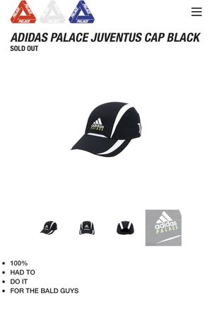 Adidas Palace Black Hat for Sale in La Mirada, CA